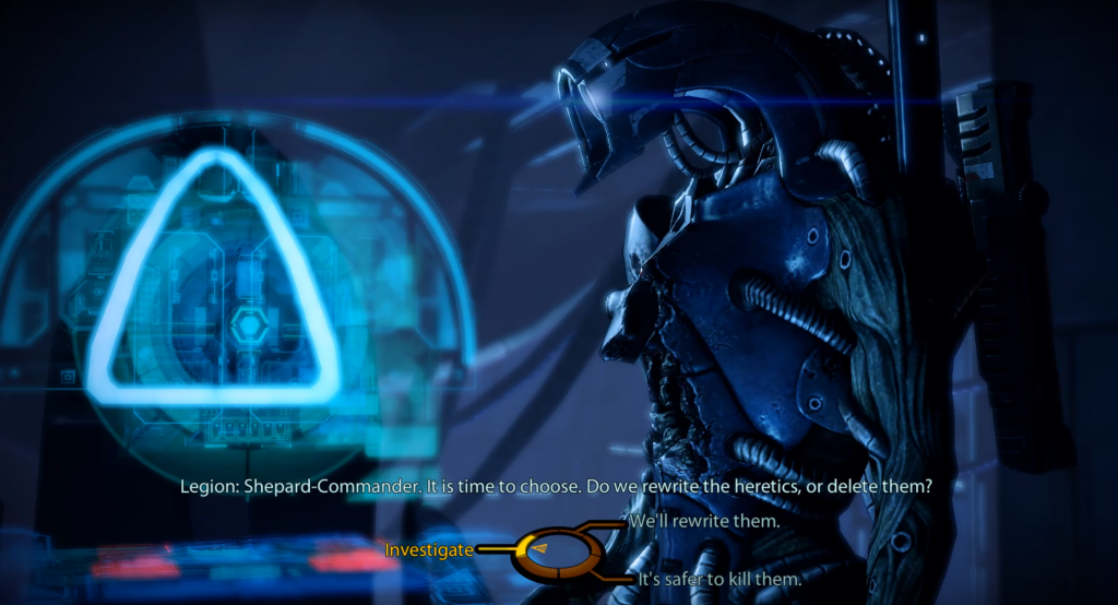 Screencap from Mass Effect 2