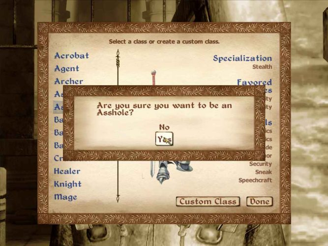 The Axes of Roleplay: Exploring the Player-Character Relationship